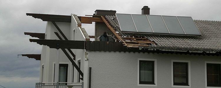 Schäden durch Sturm Gallery